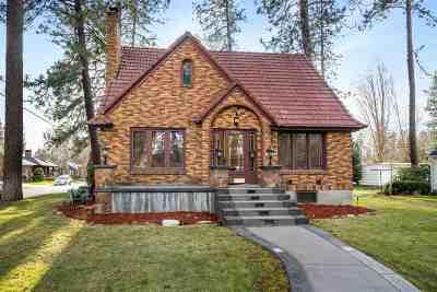 Spokane Single Family Home For Sale: 3026 S Manito Blvd