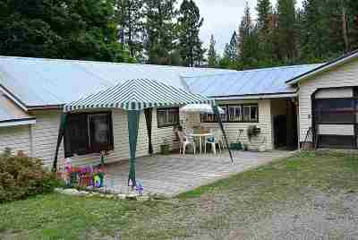 Spokane County, Stevens County Single Family Home New: 3597 Martin Rd