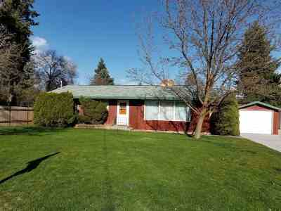 Spokane Single Family Home New: 2410 N Bradley Rd