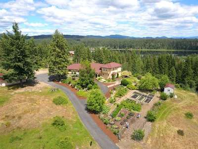 Spokane County, Stevens County Single Family Home New: 1515 E Eloika Rd #20 acres