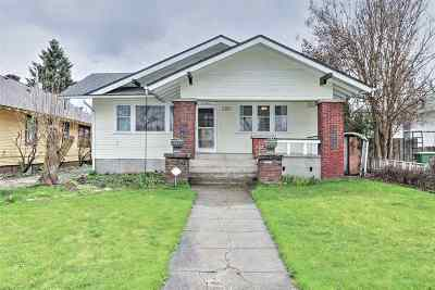 spokane Single Family Home Ctg-Inspection: 723 W Mansfield Ave