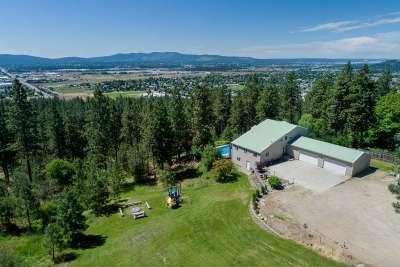 spokane Single Family Home New: 5906 N Highview Ln