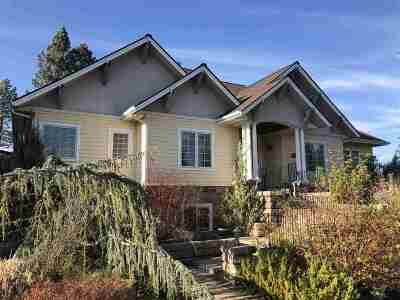 Spokane Single Family Home For Sale: 1502 W Panorama Ave