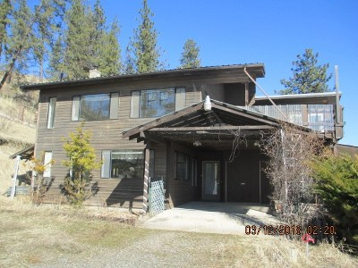 Single Family Home For Sale: 832 Inchelium Hwy
