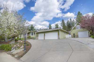 Spokane Valley Single Family Home For Sale: 11012 E Ponderosa Dr