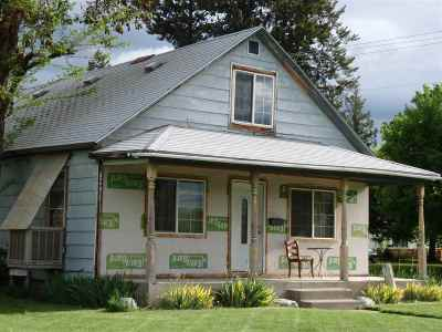 Spokane Single Family Home For Sale: 1402 W Buckeye Ave