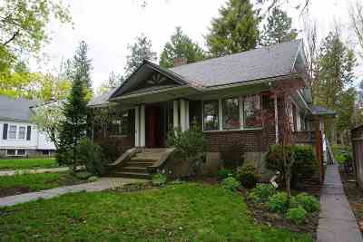 Spokane Single Family Home For Sale: 20 W 14th Ave