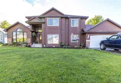 Spokane Single Family Home For Sale: 16617 N Hamilton St
