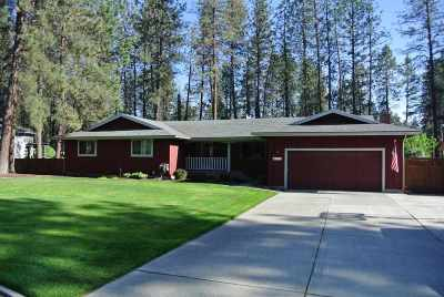 Nine Mile Falls Single Family Home For Sale: 7211 W Kendick Ave