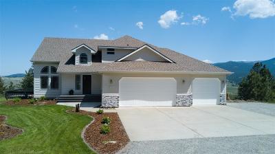 Single Family Home New: 4110 S Saltese Lake Rd