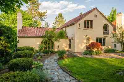 Spokane County Single Family Home New: 1815 S Upper Terrace Rd