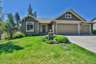 Spokane Valley Single Family Home For Sale: 8510 E Hazelwood Ln