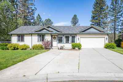Nine Mile Falls WA Single Family Home Ctg-Inspection: $349,900