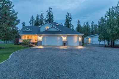 Nine Mile Falls WA Single Family Home Ctg-Sale Buyers Hm: $395,000