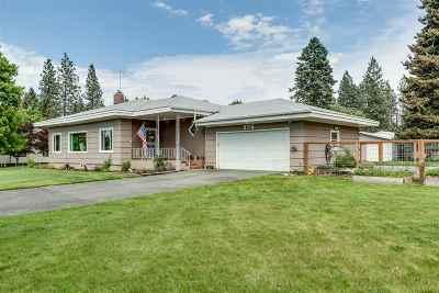 Spokane Single Family Home For Sale: 9714 N Ivanhoe Rd
