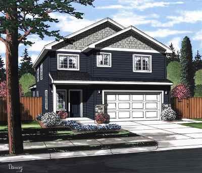 Spokane Valley Single Family Home New: 20109 E 2nd Ave