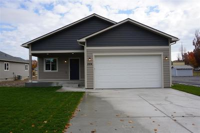 Spokane Valley Single Family Home For Sale: 2814 N Park Rd