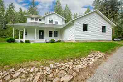 Newman Lk Single Family Home New: 23510 E Strong Rd