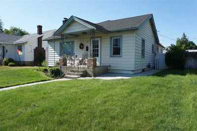 Spokane Single Family Home Chg Price: 2514 W Euclid Ave