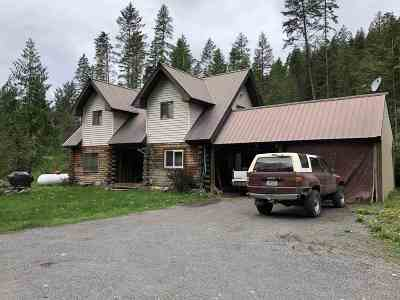 Single Family Home For Sale: 1897 A Swede Pass Rd