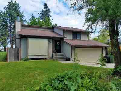 Spokane Single Family Home Ctg-Inspection: 1115 E Decatur Ave