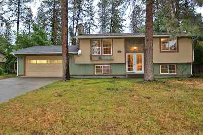 Nine Mile Falls WA Single Family Home Ctg-Inspection: $240,000