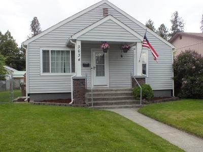 Spokane Single Family Home New: 3634 E 5th Ave