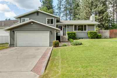 Spokane Single Family Home For Sale: 407 E Saint Thomas Moore Way