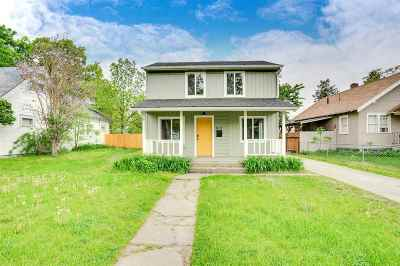 Spokane Single Family Home New: 1107 W Fairview Ave