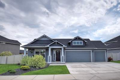 spokane Single Family Home For Sale: 1019 W Osprey Heights Dr