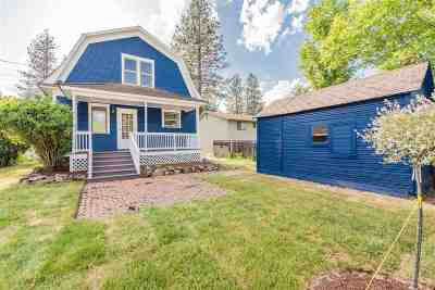 Spokane Single Family Home For Sale: 3123 S Arthur St