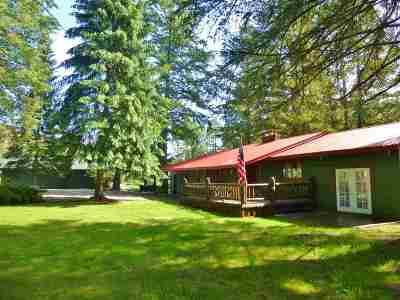 Single Family Home For Sale: 18574 N Wa-21 Hwy
