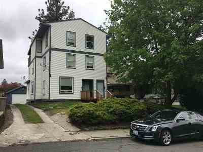 spokane Multi Family Home For Sale: S Lincoln