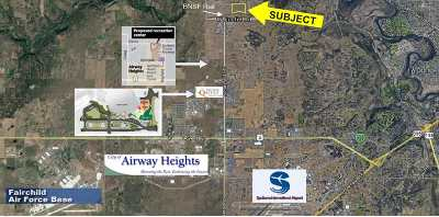 Spokane Residential Lots & Land For Sale: 11000 W Euclid Rd