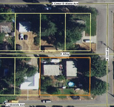 Coeur D Alene Single Family Home For Sale: 2123 E Lakeside Ave