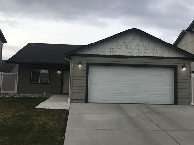 Spokane County Single Family Home For Sale: 718 Canterbury
