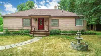 Single Family Home For Sale: 3801 E Chattaroy Rd