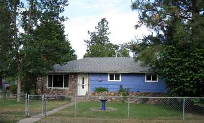 Spokane Single Family Home Bom: 6420 N Whitehouse St