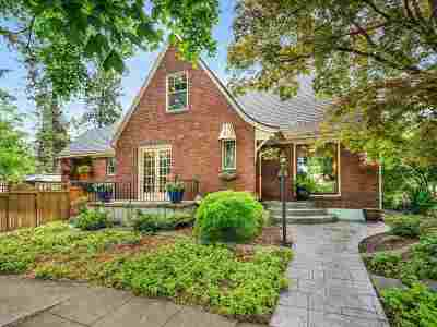 Spokane, Spokane Valley Single Family Home For Sale: 1038 W 14th Ave