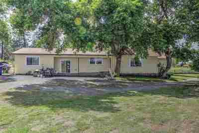 spokane Single Family Home For Sale: 8221 W Greenwood Rd