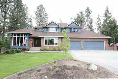 Spokane Single Family Home For Sale: 7904 E Gunning Dr