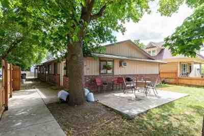 spokane Multi Family Home For Sale: W Carlisle #727/729