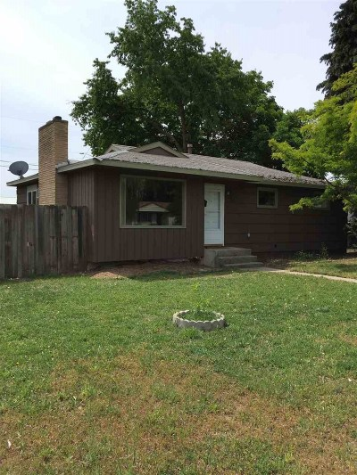 Spokane Single Family Home Ctg-Inspection: 722 E Holyoke Ave