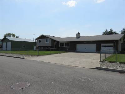 Spokane Valley Single Family Home Chg Price: 5105 N Bolivar Rd