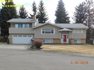 Spokane Single Family Home New: 11610 N Monroe Ct