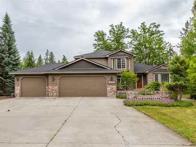 Nine Mile Falls Single Family Home Ctg-Sale Buyers Hm: 12488 W Eaglewood Ct