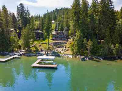 Sandpoint Single Family Home For Sale: 2665 Lakeshore Dr #Sagle, I