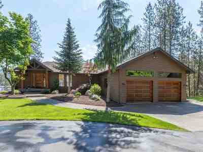 Nine Mile Falls WA Single Family Home For Sale: $990,000
