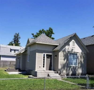Spokane Single Family Home New: 1322 W Sinto Ave