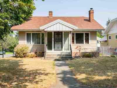 Spokane Single Family Home Chg Price: 1028 W 24th Ave